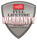 Milgard Full Lifetime Warranty